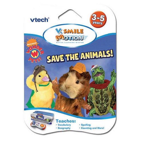 VTech V.Smile Motion Wonder Pets Save the Animals Learning Game
