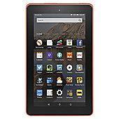 "Amazon Fire 7, 7"", Tablet, 16GB, WiFi - Tangerine"