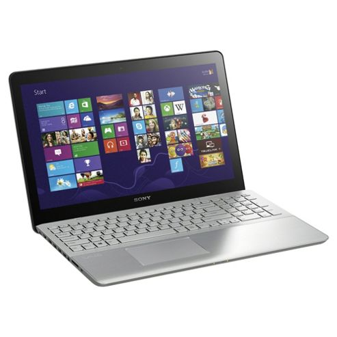 Sony Vaio Fit 15E 15.5 inch Notebook, Intel Core i7, 8GB RAM, 750GB, Windows 8, Silver