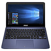 "Asus X205TA, 11.6"", Laptop, Intel Atom, Windows 10 & Office 365 (1 year), 2GB RAM, 32GB - Blue"