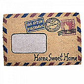 Home Sweet Home Air Mail Design Doormat for the Home