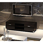 32 To 60 Inch LED/LCD/Plasma MDF TV Stand - Glossy Black