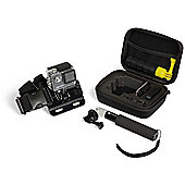 Kitvision action accessories pack with travel case, chest mount and extension pole