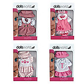 "Dolls World Dolls 18"" Outfit"