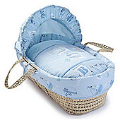 Clair de Lune Ahoy Palm Moses Basket (Natural)