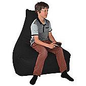 ValuFurniture PU Leather Gamer Black Bean Bag