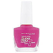 Maybelline SuperStay 7 Days Nail Colour Bubble Gum 155