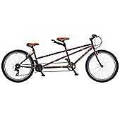"2015 Viking Pennine Trail Tandem 17""/15"" 21sp Mountain Bike"