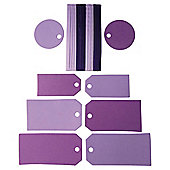 Tags & Ribbons Small Violet
