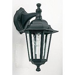 Endon Lighting Downlight Wall Lantern in Black