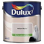 Dulux Silk Emulsion Paint, Mellow Mocha, 2.5L