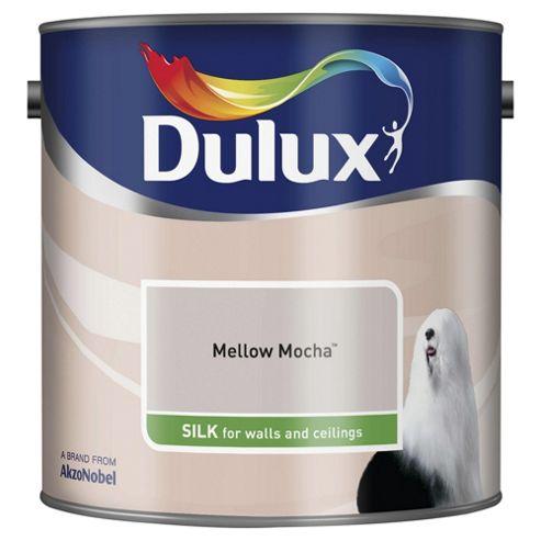 Dulux Silk Emulsion Paint, Mellow Mocha, 2.5L
