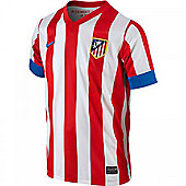 2012-13 Athletico Madrid Home Nike Shirt (Kids) - Red