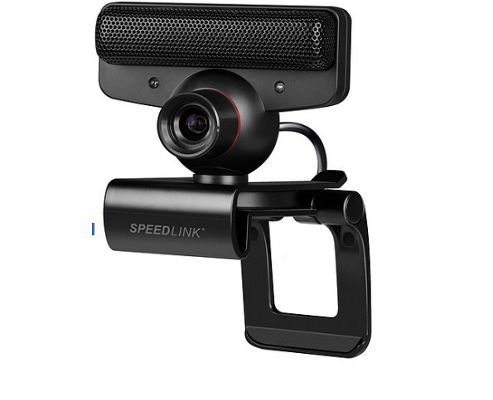 SPEEDLINK Tork Cam Comfort Kit for Playstation Eye Cam, Black SL-4303-SBK