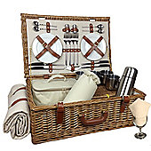 Wicker Valley Deluxe 4 Person Hamper