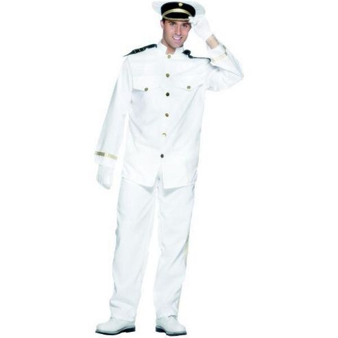Captain - Adult Costume Size: 38-40