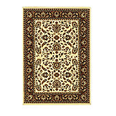 Oriental Carpets & Rugs Heritage 0993A Cream/Red Rug - Runner 67cm x 240cm