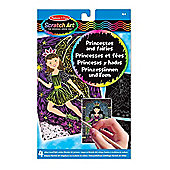 Melissa And Doug Princesses And Fairies Scratch Art