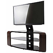 AVF Como Gloss Walnut Cantilever TV Stand