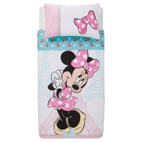 Disney Minnie Paris Duvet Set Single