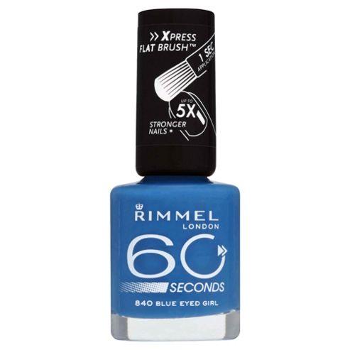 Rimmel 60 Seconds Nail Polish - Blue Eyed Girl