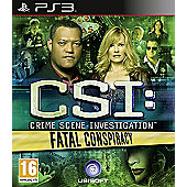 CSI - Crime Scene Investigation - Fatal Conspiracy - PS3