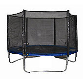 Woodworm 8Ft Trampoline With Safety Net Enclosure - Ladder - All Weather Cover