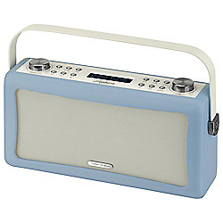ViewQuest Hepburn DAB/DAB+/FM Radio with Bluetooth (Blue)