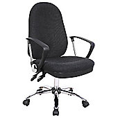 Oslo Charcoal Operator Chair