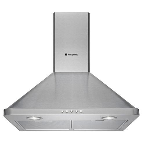 Hotpoint Cooker Hood, HHP6.5CM, Stainless Steel