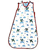 Pink Lining 2.5 Tog Baby Sleeping Bag 6-18 Months (One Starry Night)