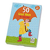 50 Great Ideas for Rainy Days for 5yrs+ by Paul Lamond Games