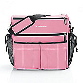 Bebemon Urban XL Baby Changing Bag - Pink Candy