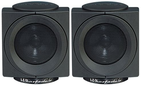 Wharfedale Modus Cube Surround Speakers Black (Pair)