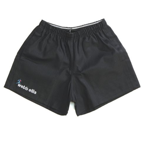 Rugbeian Short Black - 34