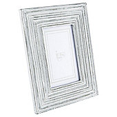 "Tesco Grey Wash Frame 4""x6"""