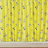 Spongebob Squarepant Curtains 72s - Smiles - Multi