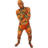 Adult Jack O Lantern Pumpkin Morphsuit Extra Large