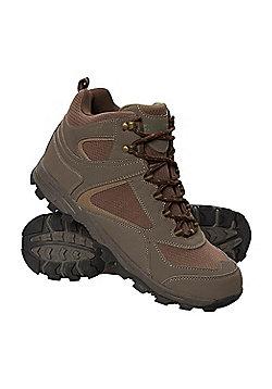 Mcleod Mens Walking Hiking Boots - Green