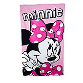 Disney Minnie Mouse Beach Towel Printed