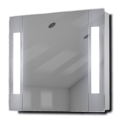 Buy Gracious Fluorescent Illuminated Bathroom Cabinet With Sensor & Shaver K17 From Our Bathroom