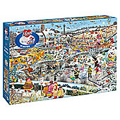 I Love Winter 1000-piece Jigsaw