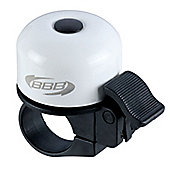 Loud & Clear Bicycle Bell, White