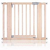 Safetots Chunky Wooden Pressure Fit Pet Gate Natural 89cm-97cm