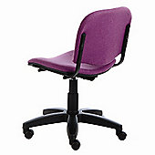 Energo Tamperproof Swivel Study and Education Chair - Black