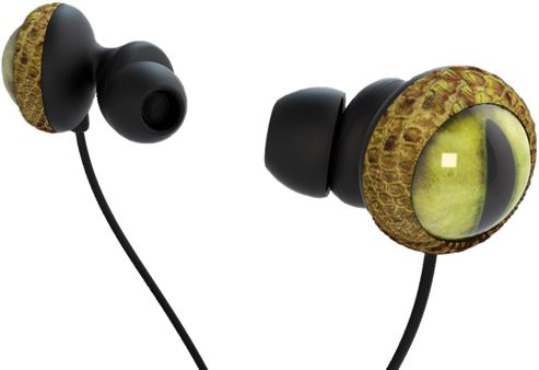 QUARKIE SNAKE EYE EARPHONES
