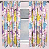 Disney Princess Enchanting Curtains 66 inch x 54 inch (168cm x 137cm)