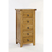 Home Zone Hasting 5 Drawer Chest