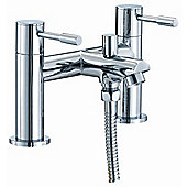 Moods Series F Bath Shower Mixer in Chrome