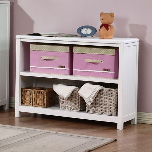 buy hickory 2 shelf bookcase white from our bookcases. Black Bedroom Furniture Sets. Home Design Ideas